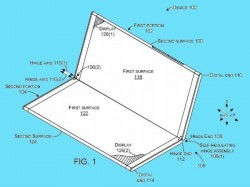 Microsoft files patent for Surface Phone with self-regulating hinge