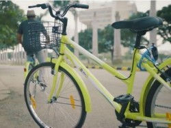 Ola Pedal, a bicycle sharing service launched in India