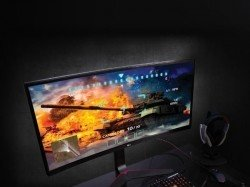 LG's Ultrawide monitors with variable refresh rate of 50-144Hz renders a smooth gaming experience