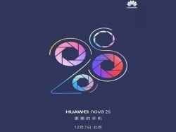 Huawei Nova 2s to be launched on December 7: Press invites out