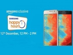 Samsung announces 'Happy Hours' sale on Amazon: Discounts up to Rs. 6,700 on smartphones