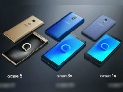 CES 2018: TCL unveils Alcatel 1X, Alcatel 3V and Alcatel 5 smartphones with interesting features