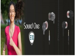 Sound One announces E10 In-Ear Headphones with MIC in India