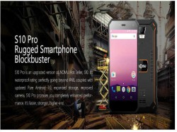 NOMU unveils S10 Pro an IP69 water and dust proof smartphone
