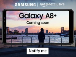 Samsung Galaxy A8 (2018), Galaxy A8+ (2018) coming soon to India; to be exclusive to Amazon