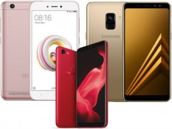 Top 10 trending smartphones of last week: Redmi Note 5, Galaxy A8 (2018), Oppo F5 and more