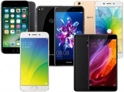 Top 10 best-selling 4G smartphones in China in 2017