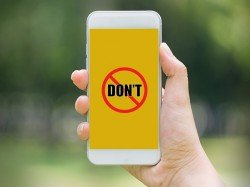 15 things you should never do with your smartphone