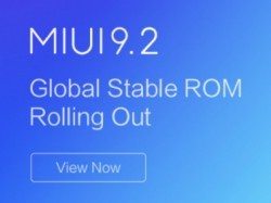 MIUI 9.2 Global Stable ROM starts rolling out for first batch of Xiaomi devices