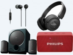 Flipkart Valentine's Day special discounts on headphones, speakers and more