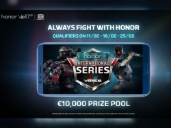 Gamers can win €10,000, Honor View 10 in the upcoming e-sports event