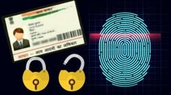 How To lock and unlock your Aadhaar biometric details