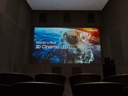 Samsung unveils world's first 3D Cinema LED screen