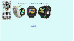 Omate x Nanoblock smartwatch for children