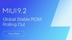 Xiaomi Mi 6 starts receiving MIUI 9.2.3 update based on Android 8.0 Oreo