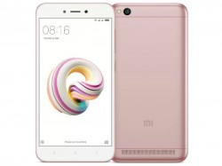 Xiaomi Redmi 5A Rose Gold variant launched in India; sale at 12PM today