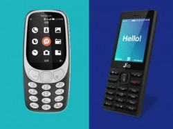 Nokia 3310 4G vs Reliance JioPhone: Clash of 4G feature phones