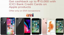 Apple iPhone offers on ICICI Bank Credit Card: Get up to Rs.10,000 cashback