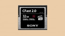Sony Expands Pro memory Card Line-up with New CFast Range