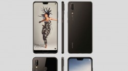 Huawei P20, P20 Lite and P20 Pro press renders leaked