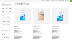 Meizu 15, 15 Lite, 15 Plus, and E3 listed on Android's official website before launch