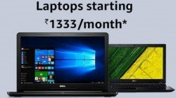Amazon EMI Fest offers laptops at Rs 1,333 per month: from DELL, Apple, Lenovo, HP and more