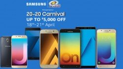 Amazon 20-20 Carnival offers upto Rs 5000 off on Samsung smartphones