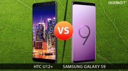 HTC U12+ Vs Samsung Galaxy S9+: The royal clash
