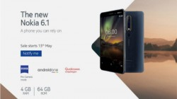 Nokia 6 (2018) with 4GB RAM India sale to debut on May 13