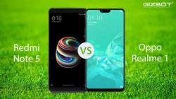 Realme 1 vs Xiaomi Redmi Note 5: Which is a better smartphone?