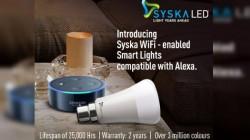 SYSKA brings smart lights with Amazon Alexa support