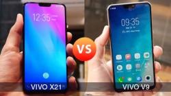 Vivo X21 Vs Vivo V9: The sibling's rivalry