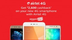 Airtel offers upto Rs. 2600 Cashback on select 4G phones on Amazon: OnePlus 5T, LG V30+ and more