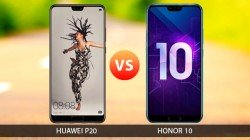 Honor 10 Vs Huawei P20: Two phones with similar instincts