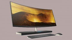 HP launches Alexa-powered curved screen All-in-One PC