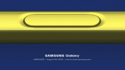 Galaxy Note9 to unpack on the 9th of August 2018: Samsung