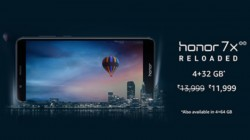 Honor 7x price slashed: Now available for just Rs 11,999