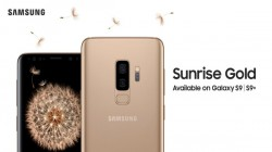 Samsung Galaxy S9, S9+ will soon be available in Sunrise Gold color