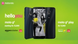 The Moto G6 Play and the Moto G6 launched in India for Rs 11,999 and 13,999, respectively