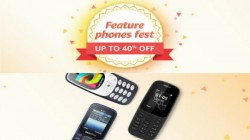 Feature Phones Fest on Amazon: Upto 40% off on Nokia, Samsung, Micromax and other brand phones
