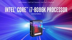 Intel launches a limited edition i7-8086K desktop CPU