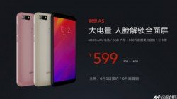 Lenovo A5 launched with 18:9 display and 4000mAh powerful battery
