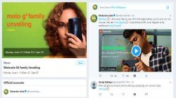 Motorola partners with Twitter India for the launch of Moto g6 and g6 play