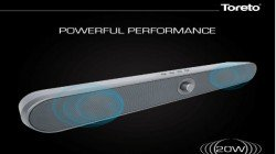 Toreto launches 'Thump' sound bar priced at Rs. 3,499