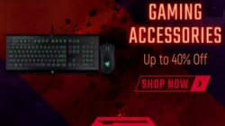 Gaming accessories available at up to 60% discount