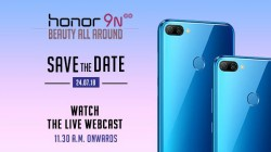 Honor 9N with a notch will launch on the 24th July as a Flipkart exclusive