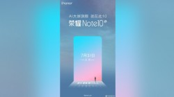 Honor Note 10 AI with 6000 mAh battery to launch in China on 31st July
