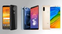 Moto E5 Plus vs Realme 1 vs Xiaomi Redmi Note 5: Which is a better budget smartphone