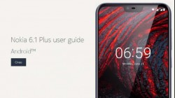 Nokia 6.1 Plus user guide spotted on official website; India launch imminent