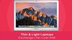 Thin and lightweight laptops to buy on EMI and exchange offers in India via Flipkart